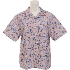 (セール)(送料無料)HELLY HANSEN(ヘリーハンセン)トレッキング アウトドア 半袖シャツ S/S Yacht Print Shirt HE41910 VC レディース VC
