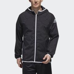 (セール)adidas(アディダス)メンズスポーツウェア ウインドアップジャケット M4T ネットグラフィック ジャケット FWH07 DX4195 メンズ ブラック