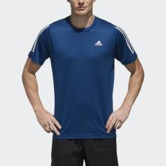 (セール)adidas(アディダス)メンズスポーツウェア 半袖ベーシックTシャツ M4T ワンポイントTシャツ FTF30 DV2197 メンズ レジェンドマリンS19