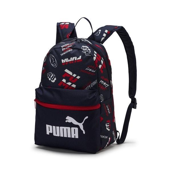 PUMA(プーマ)スポーツアクセサリー バッグパック プーマ フェイズ スモール バックパック 07548807 ボーイズ ピーコート/AOP