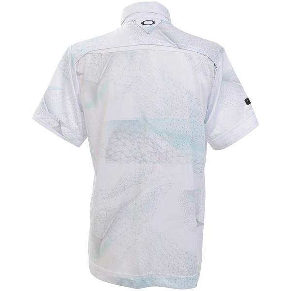 ece21af5 ... 送料無料)OAKLEY(オークリー)ゴルフ 半袖ポロ 半袖ハイネック SKULL BREATHABLE GRAPHIC