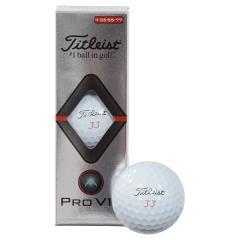 Titleist(タイトリスト)ゴルフ ボール PRO V1X 19 DOUBLE PLAY# 3P T2046S-3PLEJ WHT