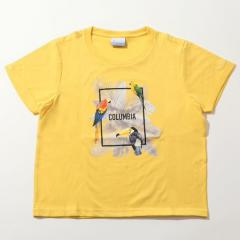 Columbia(コロンビア)トレッキング アウトドア 半袖Tシャツ デイジーフォレストウィメンズショートスリーブTシャツ PL3119-720 レディース MUSTARD