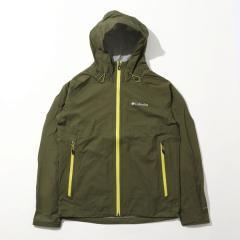 (送料無料)Columbia(コロンビア)トレッキング アウトドア 薄手ジャケット ライトクレストジャケット PM3434-383 メンズ NORI