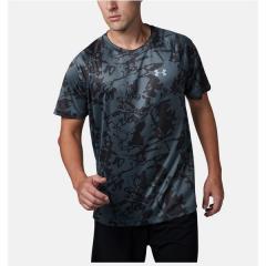 (セール)UNDER ARMOUR(アンダーアーマー)ランニング メンズ半袖Tシャツ 19S UA SPEED STRIDE PRINTED SS 1320208 012 メンズ PCG/JGY