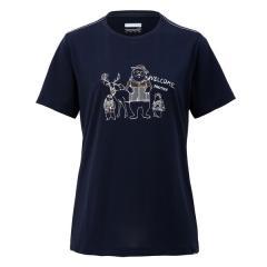 Marmot(マーモット)トレッキング アウトドア 半袖Tシャツ WS FUNNY ANIMALS H/S CREW TOWNJA58 DNV レディース DNV