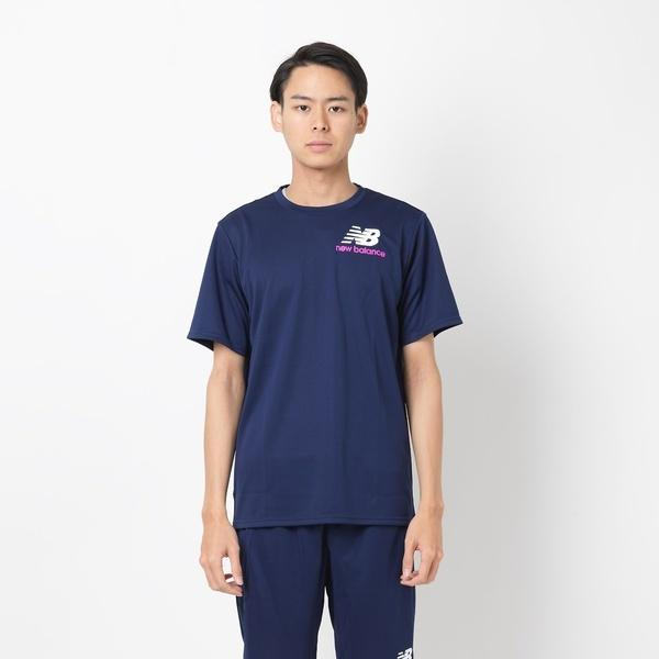 5b27be7b63651 セール)New Balance(ニューバランス)メンズスポーツウェア 半袖ベーシックTシャツ S