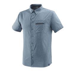 (送料無料)MILLET(ミレー)トレッキング アウトドア 半袖シャツ アルピ シャツ ショートスリーブ MIV7700 8764 メンズ FLINT