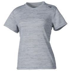 MILLET(ミレー)トレッキング アウトドア 半袖Tシャツ M メッシュ クルー ショートスリーブ MIV01694 7372 レディース SILVER