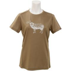 Phenix(フェニックス)トレッキング アウトドア 半袖Tシャツ シープ ショートスリーブ PH922TS63 BR レディース BR