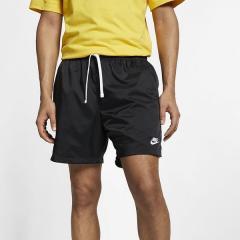 NIKE(ナイキ)メンズスポーツウェア ショートパンツ ナイキ フロー ウーブン ショート AR2383-010 メンズ ブラック/(ホワイト)