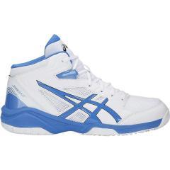 (送料無料)ASICS(アシックス)バスケットボール ジュニア シューズ DUNKSHOT MB 8 TBF139.101 ジュニア WHITE/BCST