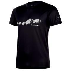 (セール)MAMMUT(マムート)トレッキング アウトドア 半袖Tシャツ QD AEGILITY T-SHIRT AF MEN サイズ/M 1.01710062004711E+15 メンズ M BLACK-WHITE