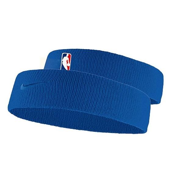 NIKE(ナイキ)バスケットボール アクセサリー ナイキ ヘッドバンド NBA NB1001 471 F ラッシュブルー/ラッシュブルー