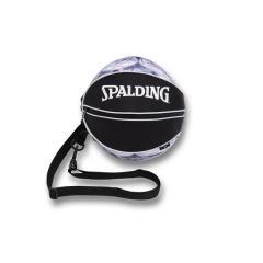 (セール)SPALDING(スポルディング)バスケットボール ボールアクセサリー ボールバッグ マーブルボール 49-001MB F ホワイト