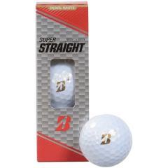 BRIDGESTONE(ブリヂストン)ゴルフ ボール 19スーパーストレート  3P PWH SSGX 「」 パールホワイト