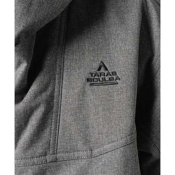 10%OFFクーポン対象商品 (セール)(送料無料)TARAS BOULBA(タラスブルバ)トレッキング アウトドア 厚手ジャケット インサレーション フーデッドジャケット TB-F19-014-005 GRY メンズ グレー クーポンコード:KZUZN2T