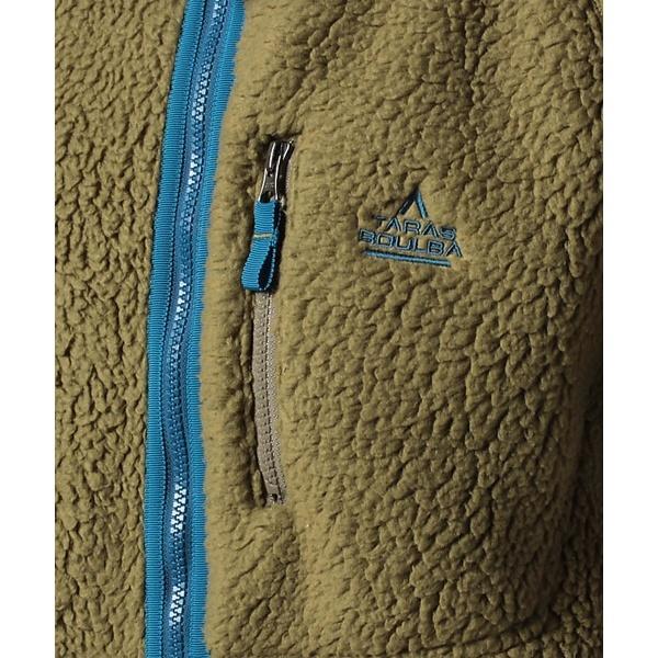 (セール)TARAS BOULBA(タラスブルバ)トレッキング アウトドア フリース サーマルプロ ボアフリースジャケット TB-F19-014-008 COB メンズ コヨーテブラウン