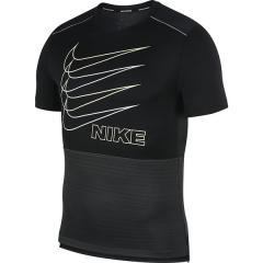 10%OFFクーポン対象商品 (セール)NIKE(ナイキ)ランニング メンズ半袖Tシャツ ナイキ DRI-FIT ハイブリッド S/S マイラー BV4626-010 メンズ ブラック/ダークスモークグレー/ベアリーボルト/(リフレクトシルバー) クーポンコード:KZUZN2T