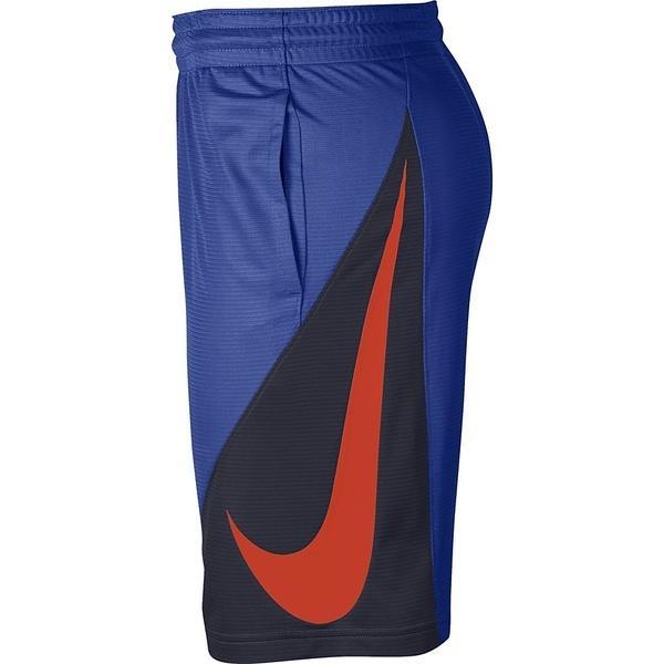 NIKE(ナイキ)バスケットボール メンズ プラクティスショーツ ナイキ HBR ショート 910706-481 メンズ ゲームロイヤル/オブシディアン/(チームオレンジ)