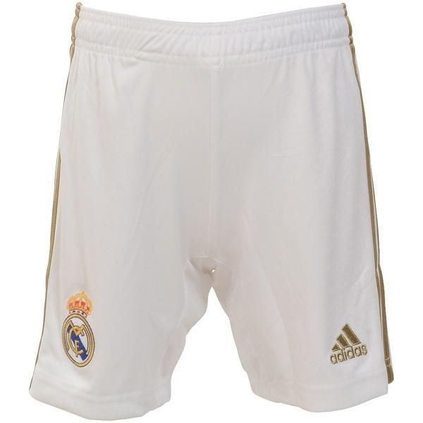 adidas(アディダス)サッカー 海外クラブ ナショナルチーム KIDS レアル・マドリード ホームレプリカショーツ FWU47 DX8840 ボーイズ ホワイト