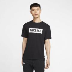 NIKE(ナイキ)サッカー その他アパレル ナイキ FC シーズナル ブロック Tシャツ AQ8008-011 メンズ ブラック/(ホワイト)