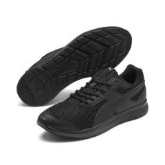 PUMA(プーマ)ランニング メンズジョギングシューズ エスケーパー コア 36998502 メンズ プーマ ブラック/プーマ ブラック/プーマ ホワイト