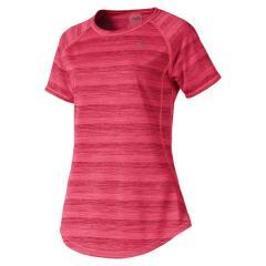 PUMA(プーマ)ランニング レディース半袖Tシャツ GET FAST THERMO-R+ SS Tシャ 51875901 レディース ピンク アラート ヘザー