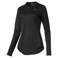 PUMA(プーマ)ランニング レディース長袖Tシャツ FAVORITE イグナイト LS Tシャツ 51877503 レディース プーマ ブラック ヘザー