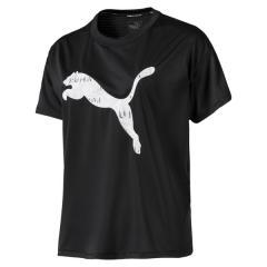 PUMA(プーマ)ランニング レディース半袖Tシャツ LAST LAP ロゴ SS Tシャツ 51881404 レディース プーマ ブラック