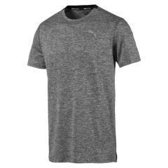 PUMA(プーマ)ランニング メンズ半袖Tシャツ FAVORITE イグナイト ヘザーSS Tシ 51884803 メンズ ミディアム グレー ヘザー/ピーコート ヘザー