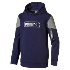 PUMA(プーマ)ジュニアスポーツウェア スウェット NU-TILITY フーディー 58098406 ボーイズ ピーコート