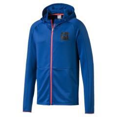 PUMA(プーマ)メンズスポーツウェア ウォームアップジャケット TEC SPORS フーデッドスウェットジャ 58087339 メンズ ギャラクシー ブルー