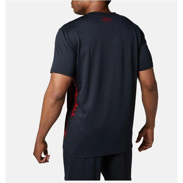 (セール)UNDER ARMOUR(アンダーアーマー)野球 半袖Tシャツ 19F UA TECH GRAPHIC T SHIRT 1346889 001 メンズ 1