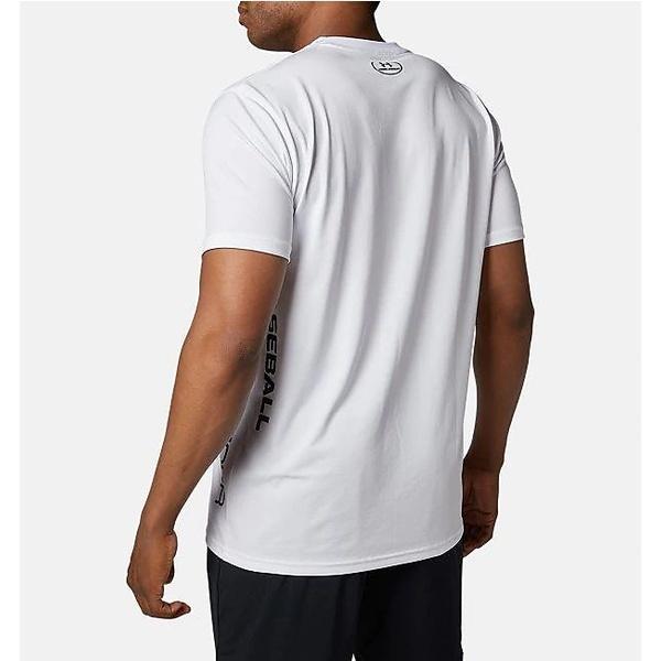 (セール)UNDER ARMOUR(アンダーアーマー)野球 半袖Tシャツ 19F UA TECH GRAPHIC T SHIRT 1346889 100 メンズ 100