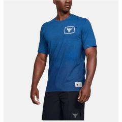 UNDER ARMOUR(アンダーアーマー)メンズスポーツウェア 半袖機能Tシャツ 19F UA PROJECT ROCK IRON PARADISE SS 1346098 480 メンズ 480