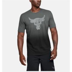 UNDER ARMOUR(アンダーアーマー)メンズスポーツウェア 半袖機能Tシャツ 19F UA PROJECT ROCK BULL GRAPHIC SS 1346099 012 メンズ 12
