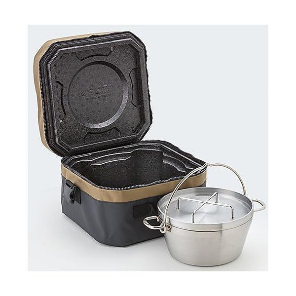 (送料無料)SOTO(ソト) キャンプ用品 ダッチオーブン ステンレスダッチオーブン&エミールセット ST-910ES