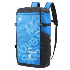 10%OFFクーポン対象商品 (送料無料)DESCENTE(デサント)スポーツアクセサリー バッグパック スクエアバッグL DMANJA05 BL F BL クーポンコード:KZUZN2T