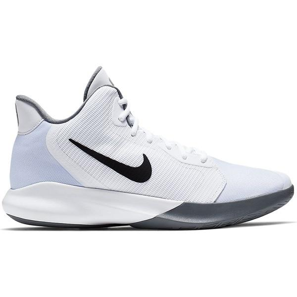 (セール)NIKE(ナイキ)バスケットボール シューズ ナイキ プレシジョン III AQ7495,100 ホワイト/ブラック