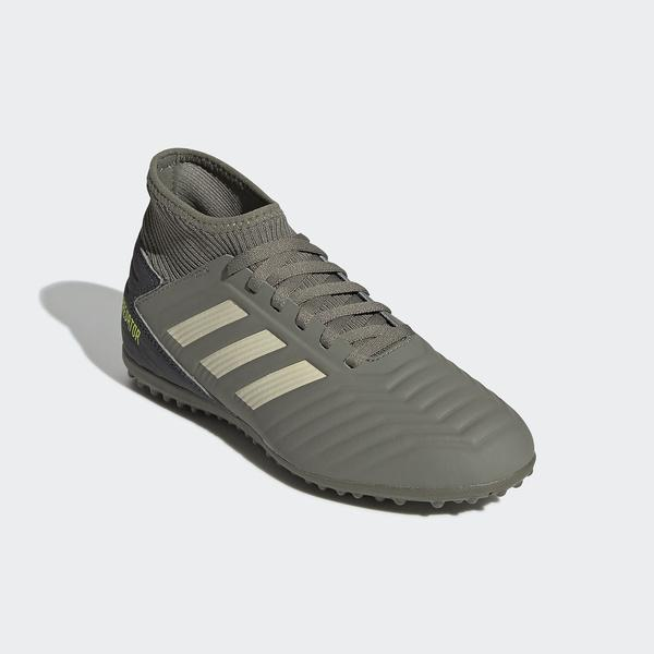 10%OFFクーポン対象商品 adidas(アディダス)サッカー ジュニアターフ プレデター 19.3 TF J DQV04 EF8220 ボーイズ レガシーグリーン/サンド/ソーラーイエロー クーポンコード:KZUZN2T
