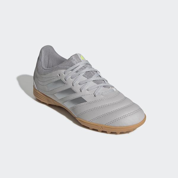 10%OFFクーポン対象商品 adidas(アディダス)サッカー ジュニアターフ コパ 20.3 TF J GKQ95 EF8343 ボーイズ グレーTWO F17/マットシルバー/グレースリーF17 クーポンコード:KZUZN2T