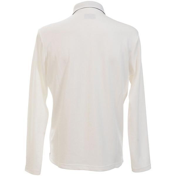 (送料無料)New Balance(ニューバランス)ゴルフ 長袖ポロ 長袖ハイネック M THERMOLITEカノコメッシュ長袖共衿シャツ MT 012-92690036030 メンズ LL ホワイト