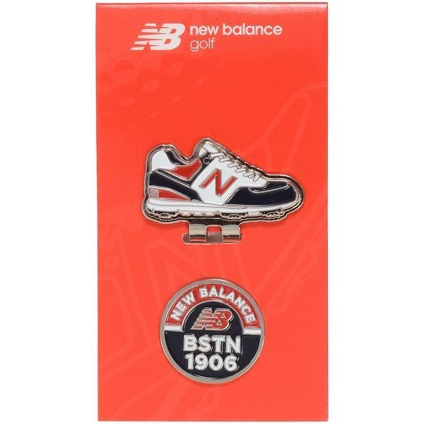 New Balance(ニューバランス)ゴルフ ゴルフ用品アクセサリー U 定番 ロゴ X フットウエア クリップマーカー MT 012-9984032-121 メンズ ネイビー