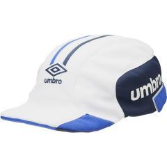 (セール)UMBRO(アンブロ)サッカー アパレルアクセサリー JR.クーリングフットボールプラクティスキャップ UUDPJC03 WH ボーイズ F WH