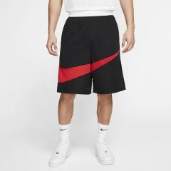 (セール)NIKE(ナイキ)バスケットボール メンズ プラクティスショーツ ナイキ ハイブリッド ショート 2.0 BV9386-010 メンズ ブラック/(ユニバーシティレッド)