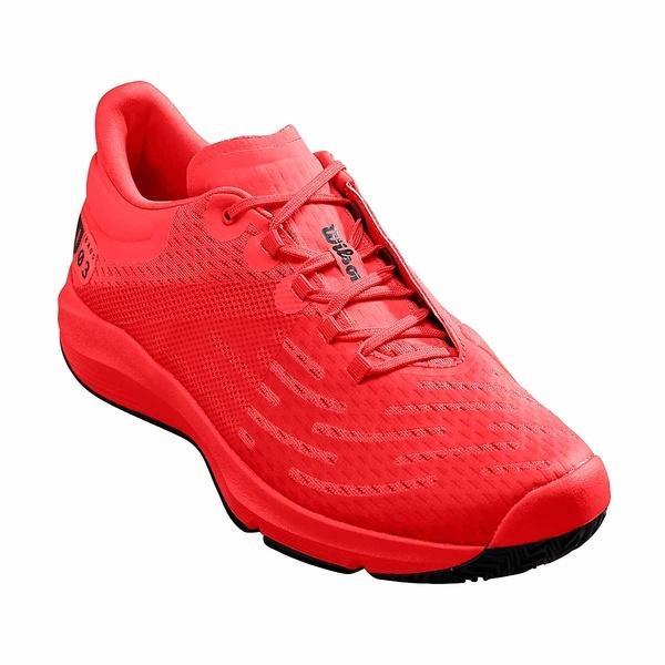 (セール)(送料無料)WILSON(ウィルソン)メンズテニスシューズ KAOS 3.0 OC MS WRS326600U メンズ RED