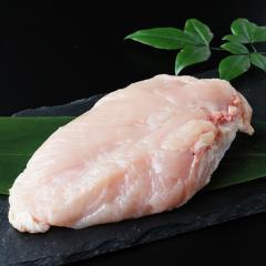 鶏肉 水郷どり むね肉・胸肉 [1枚250g程度] ~国産鶏肉「水郷どり」のムネ肉を職人が手ばらし!冷凍真空パックでお届け~