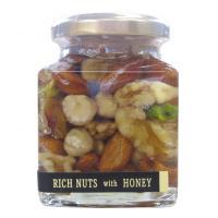【送料無料】近藤養蜂場 ナッツの蜂蜜漬け 200g×2個