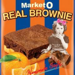 【送料無料】オリオン Market O マーケットオー リアルブラウニービッグ ビッグオレンジ 35g 8個入り×2セット【レジにて10%OFFクーポンコード_8TN5LM5_】